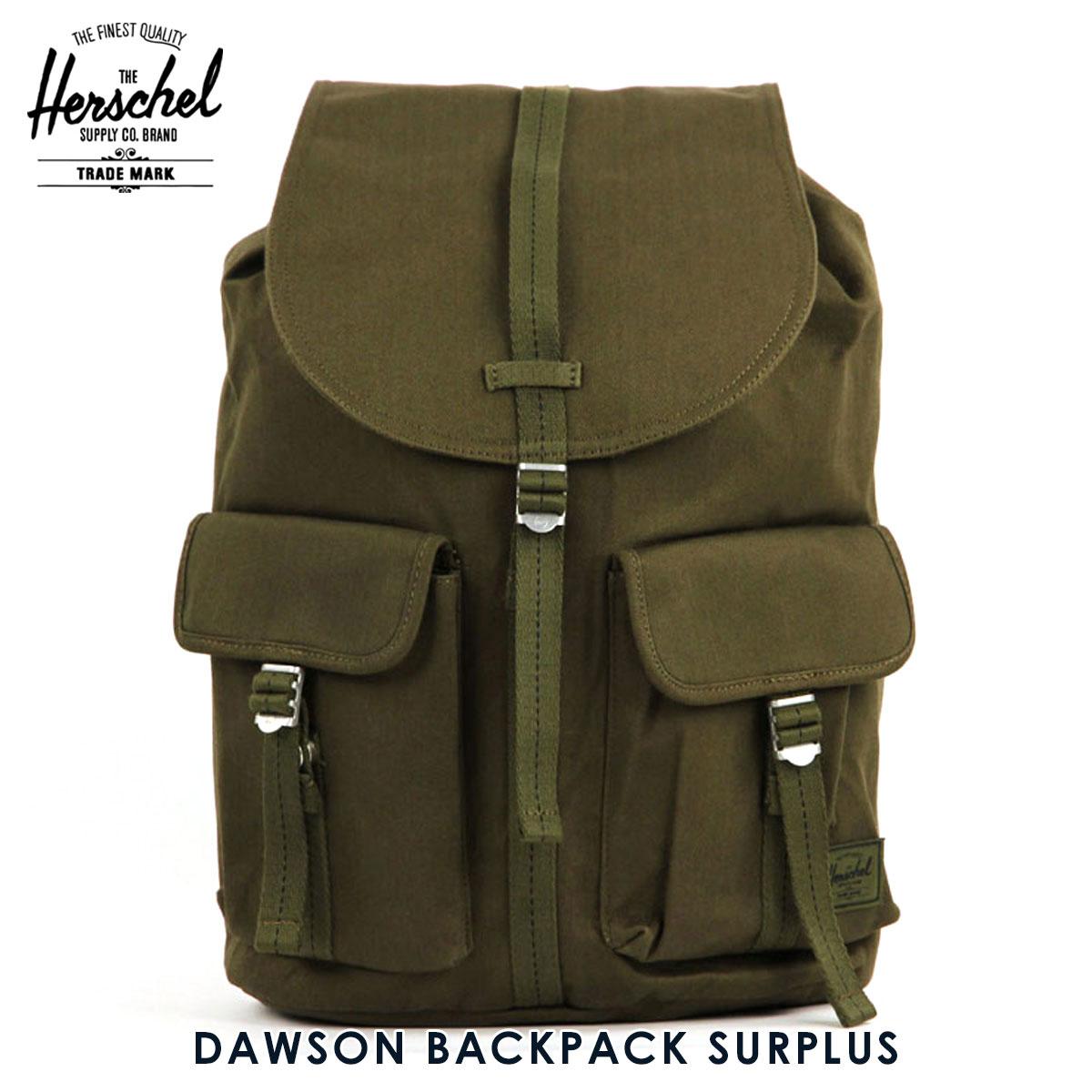 ハーシェル バッグ 正規販売店 Herschel Supply ハーシャルサプライ バッグ リュックサック DAWSON BACKPACK SURPLUS 10233-01131-OS ARMY