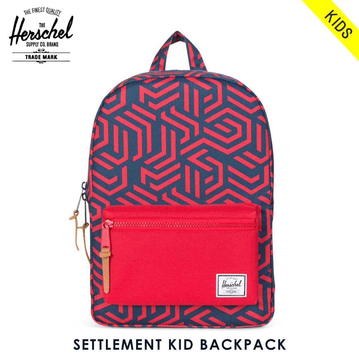 72226d4c790b Herschel supply Herschel Supply regular sale shop bag rucksack SETTLEMENT  KID BACKPACK 10074-01209-OS NAVY METRIC RED