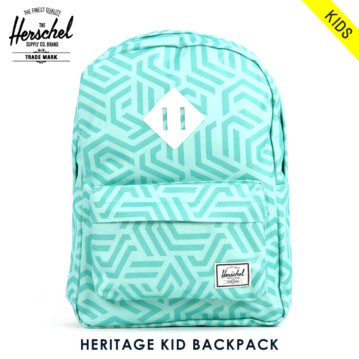 9367206ca57e Rakuten Ichiba shop MIXON  Herschel supply Herschel Supply regular sale  shop bag rucksack HERITAGE KID BACKPACK 10073-01208-OS TEAL METRIC WHITE  RUBBER ...
