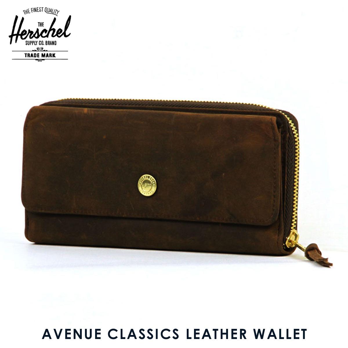 ハーシェル サプライ Herschel Supply 正規販売店 財布 AVENUE CLASSICS LEATHER WALLET 10259-00037-OS NUBUCK LEATHER D00S20