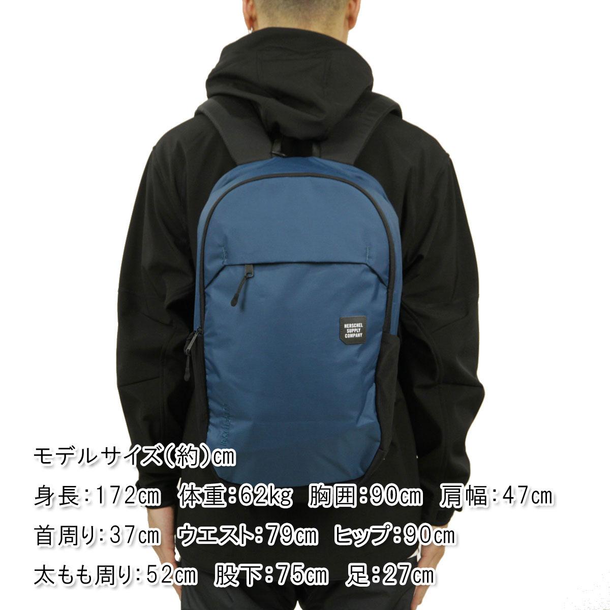Hershel Herschel Supply regular store bag MAMMOTH BACKPACK LARGE TRAIL  10322-01389-OS LEGION BLUE BLACK 2a18e5f0e18b5