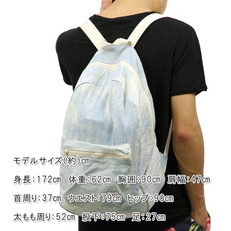 6a3d49ab8f50 Hershel Herschel Supply regular store bag DAYPACK BACKPACK COTTON CASUALS  10076-01508-OS BLEACH DENIM