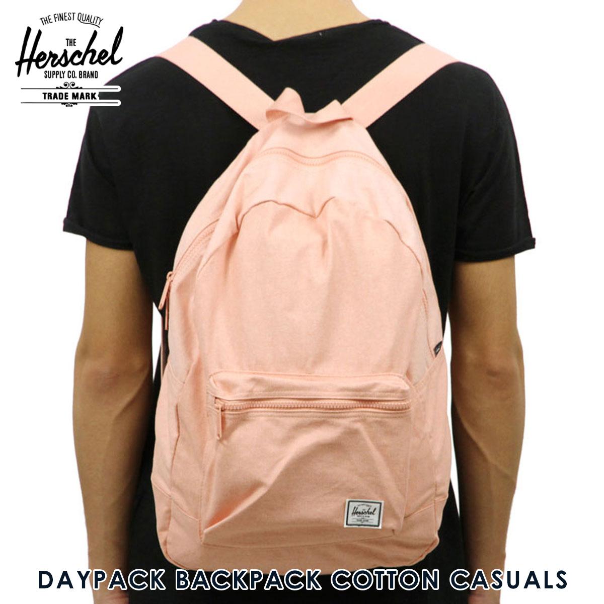 c984b77dcb Rakuten Ichiba shop MIXON  Hershel Herschel Supply regular store bag  DAYPACK BACKPACK COTTON CASUALS 10076-01506-OS APRICOT BLUSH