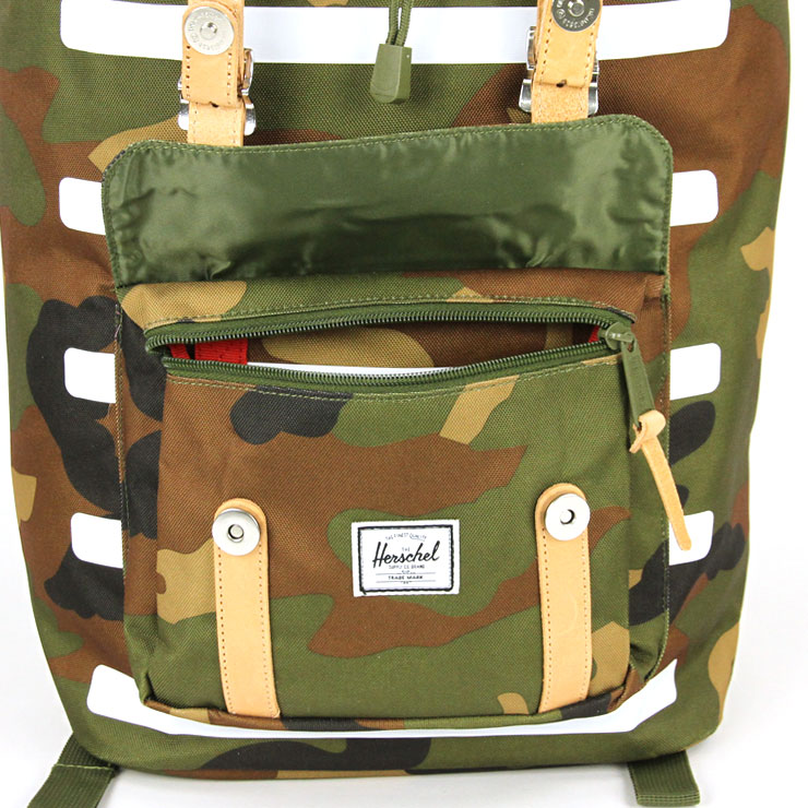 50cf14d0ce5 Hershel supply Herschel Supply regular store bag LITTLE AMERICA BACKPACK  OFFSET 10014-01457-OS WOODLAND CAMO STRIPE