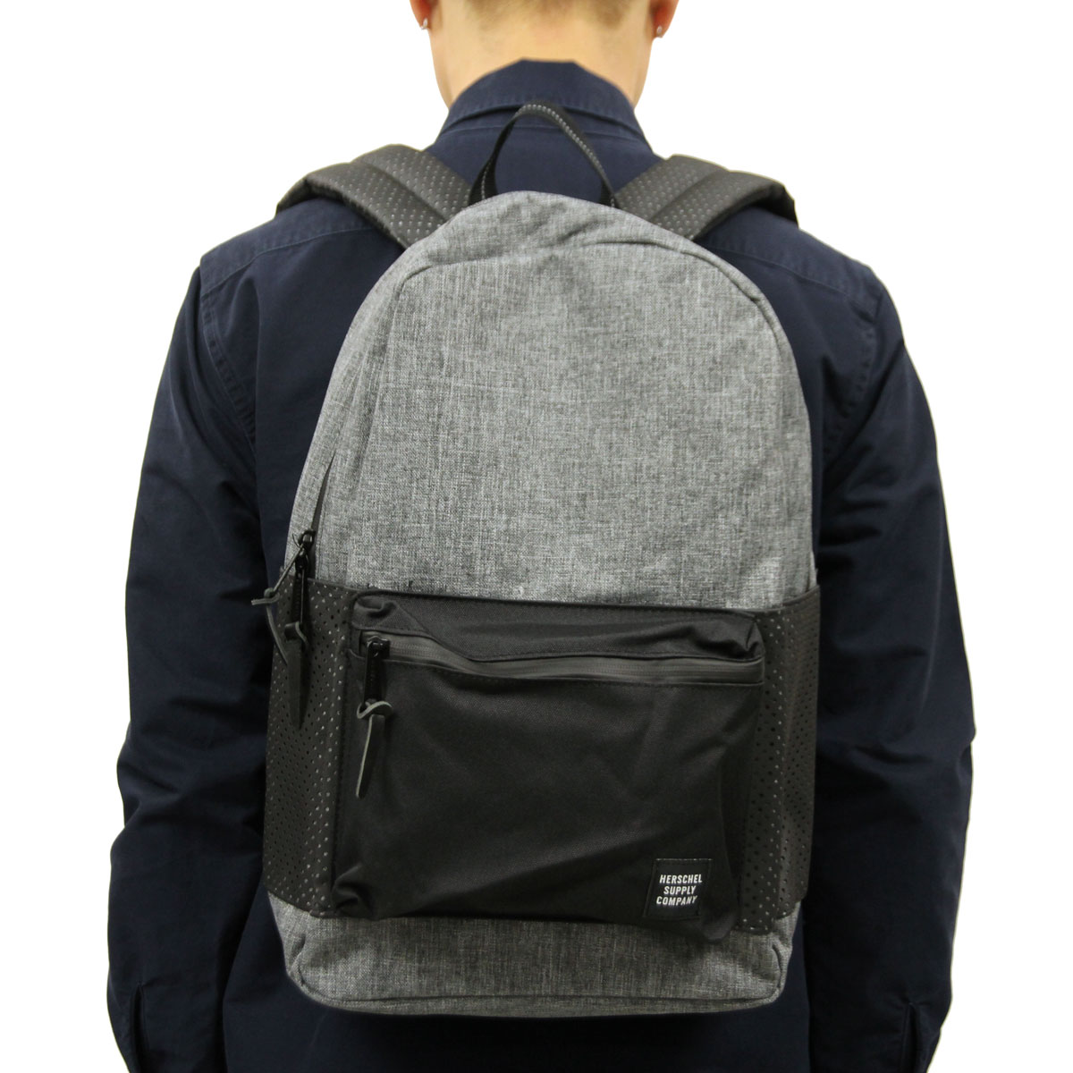c3add8f52f9 Hershel supply Herschel Supply regular store backpack SETTLEMENT BACKPACK  ASPECT 10005-01554-OS RAVEN CROSSHATCH BLACK 23L