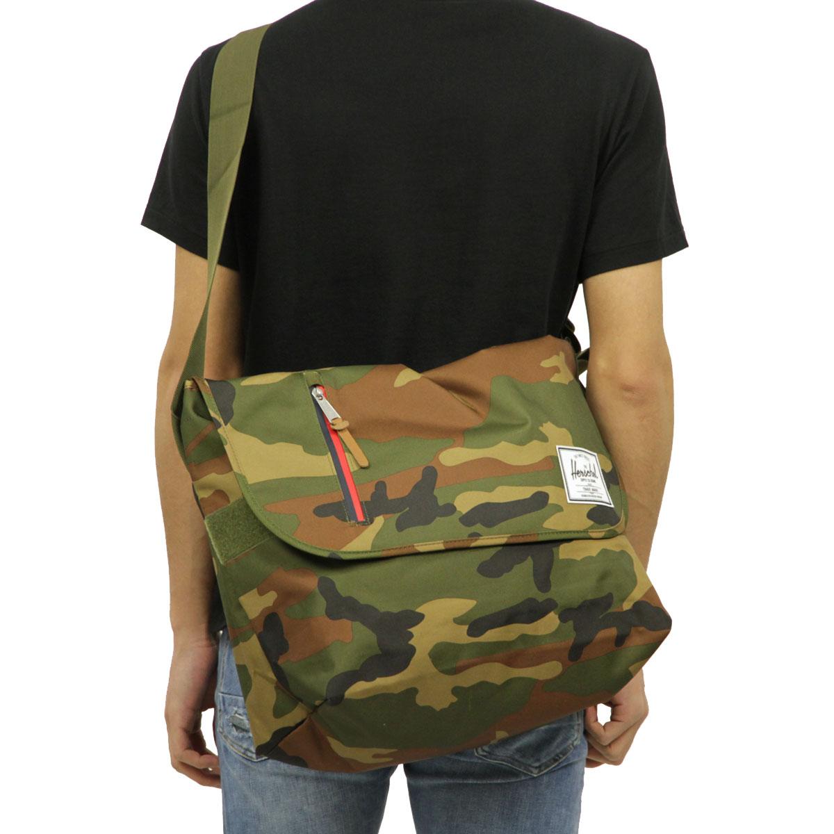 Hershel supply Herschel Supply regular store bag shoulder bag ODELL  MESSENGER BAG CLASSICS  6d003f2ff451e