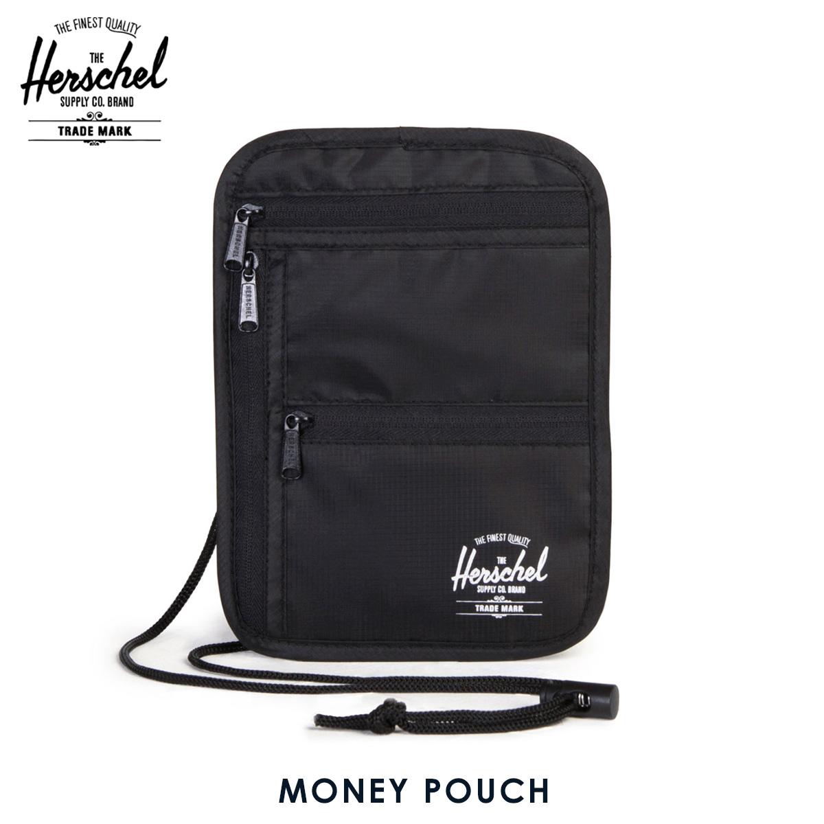 b4191e6b4f Hershel supply Herschel Supply regular store porch bag MONEY POUCH  10531-00001-OS BLACK ...