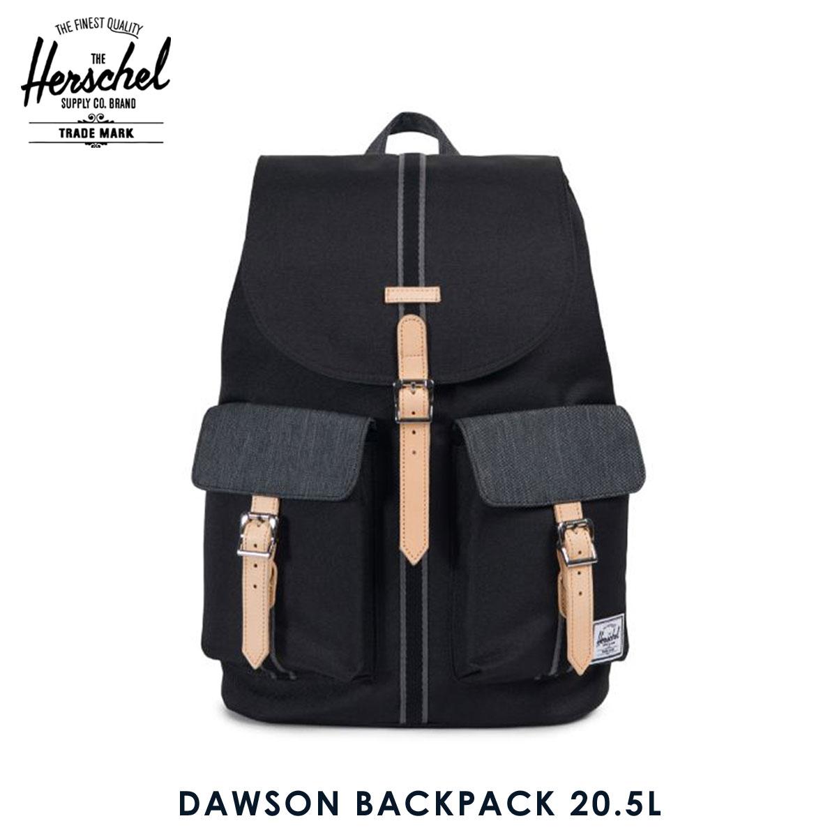 ハーシェル サプライ Herschel Supply 正規販売店 バックパック リュック DAWSON BACKPACK 10233-02099-OS BLACK/BLACK DENIM