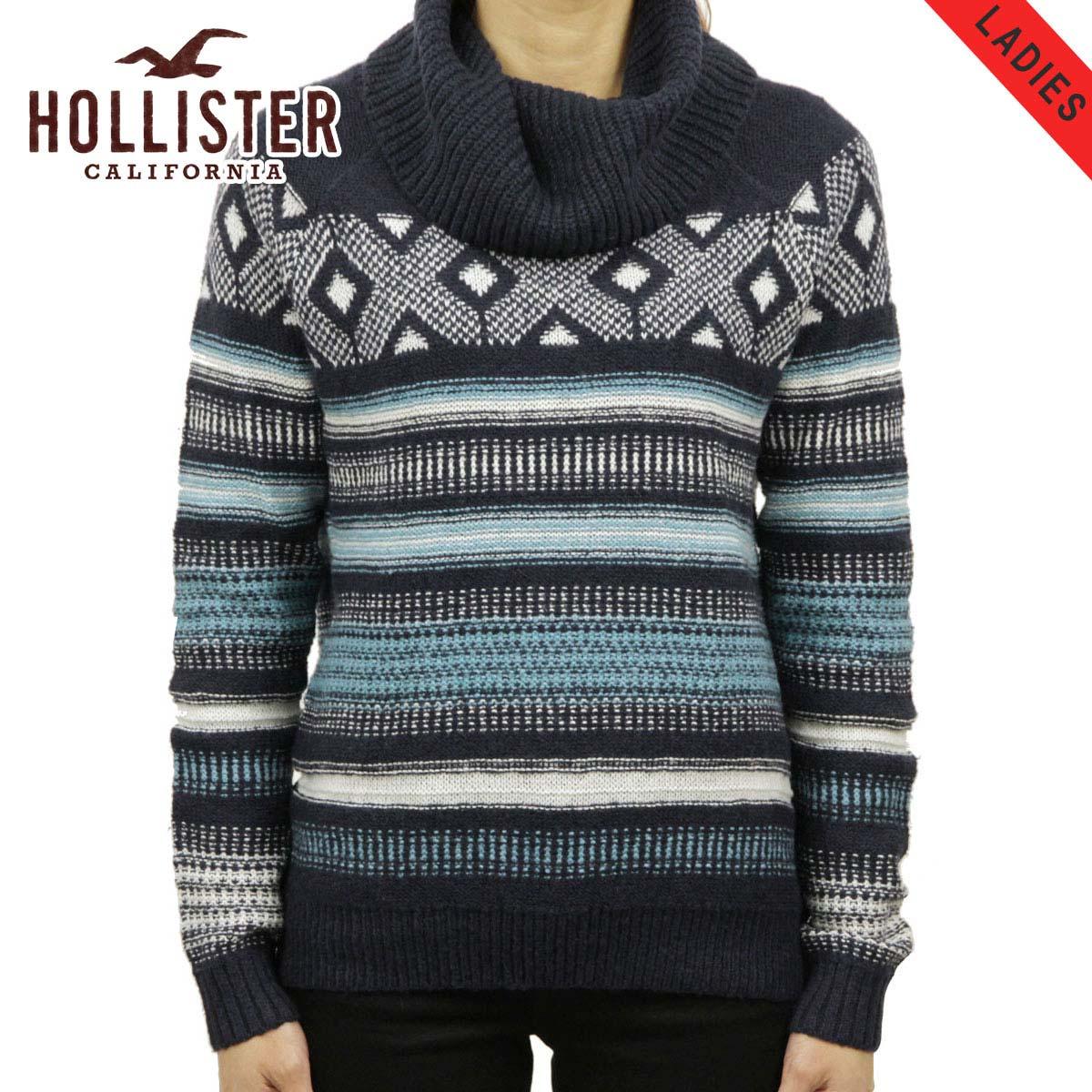 1e1e78b6302b Hollister HOLLISTER AE women s sweater Patterned Cowl Neck Sweater  350-507-0558-206
