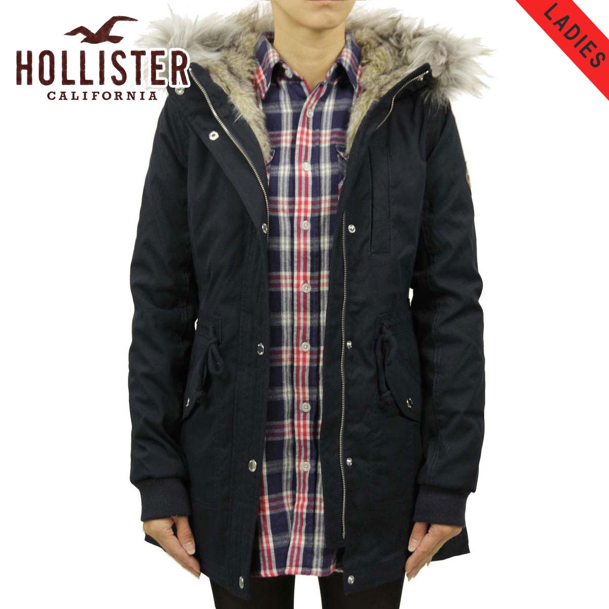 ホリスター HOLLISTER 正規品 レディース アウター フードロングコート Stretch Faux-Fur-Lined Parka 344-445-0674-200
