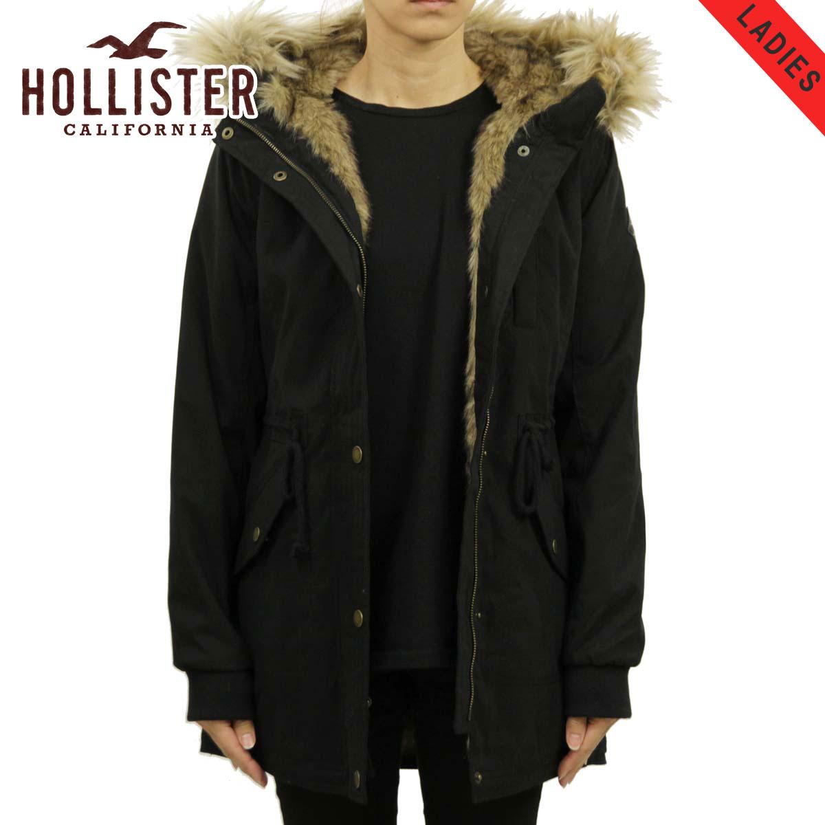 ホリスター HOLLISTER 正規品 レディース アウター フードロングコート Stretch Faux-Fur-Lined Parka 344-445-0675-900