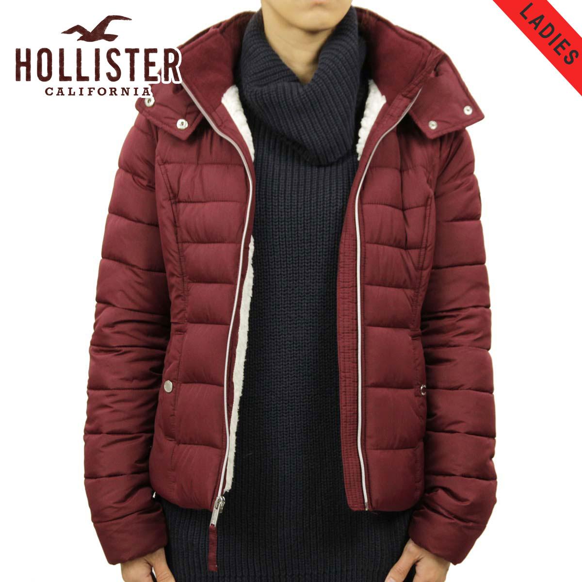 ホリスター HOLLISTER 正規品 レディース アウター パファージャケット Sherpa-Lined Puffer Jacket 344-445-0636-520