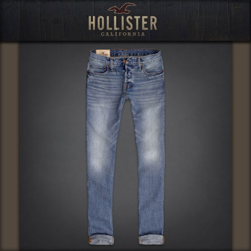 hollister grey jeans