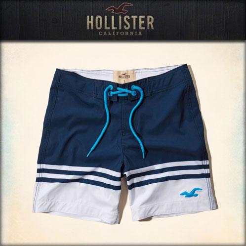 hollister mens swim trunks