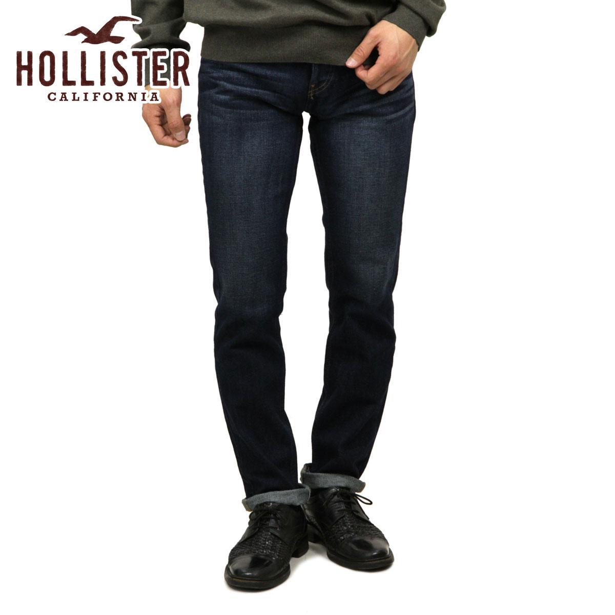 霍利斯特霍利斯特 AE 男式牛仔裤紧身牛仔裤洗黑 331-380-0385年-023