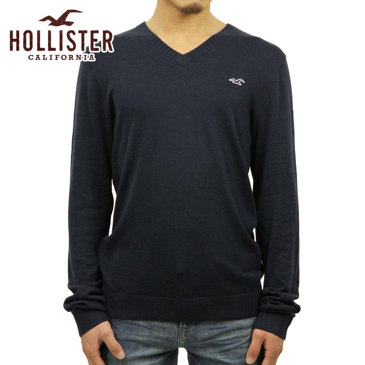 霍利斯特霍利斯特 AE 男式毛衣亨廷顿海滩 V 颈部毛衣 320-201-0178年-023 P19May15
