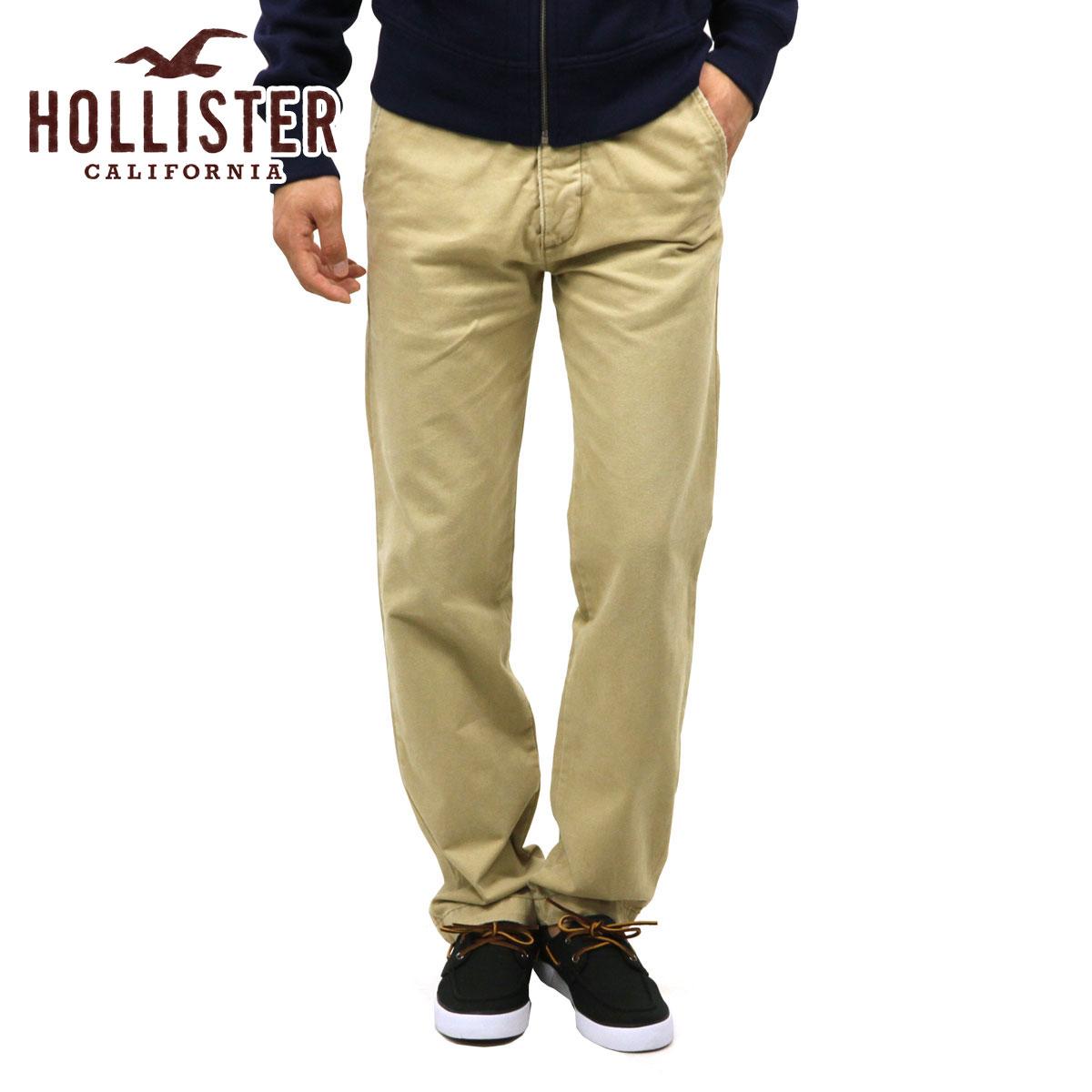 ホリスター チノパン メンズ 正規品 HOLLISTER ボトムス ツ Slim Straight Chinos 330-302-0121-044