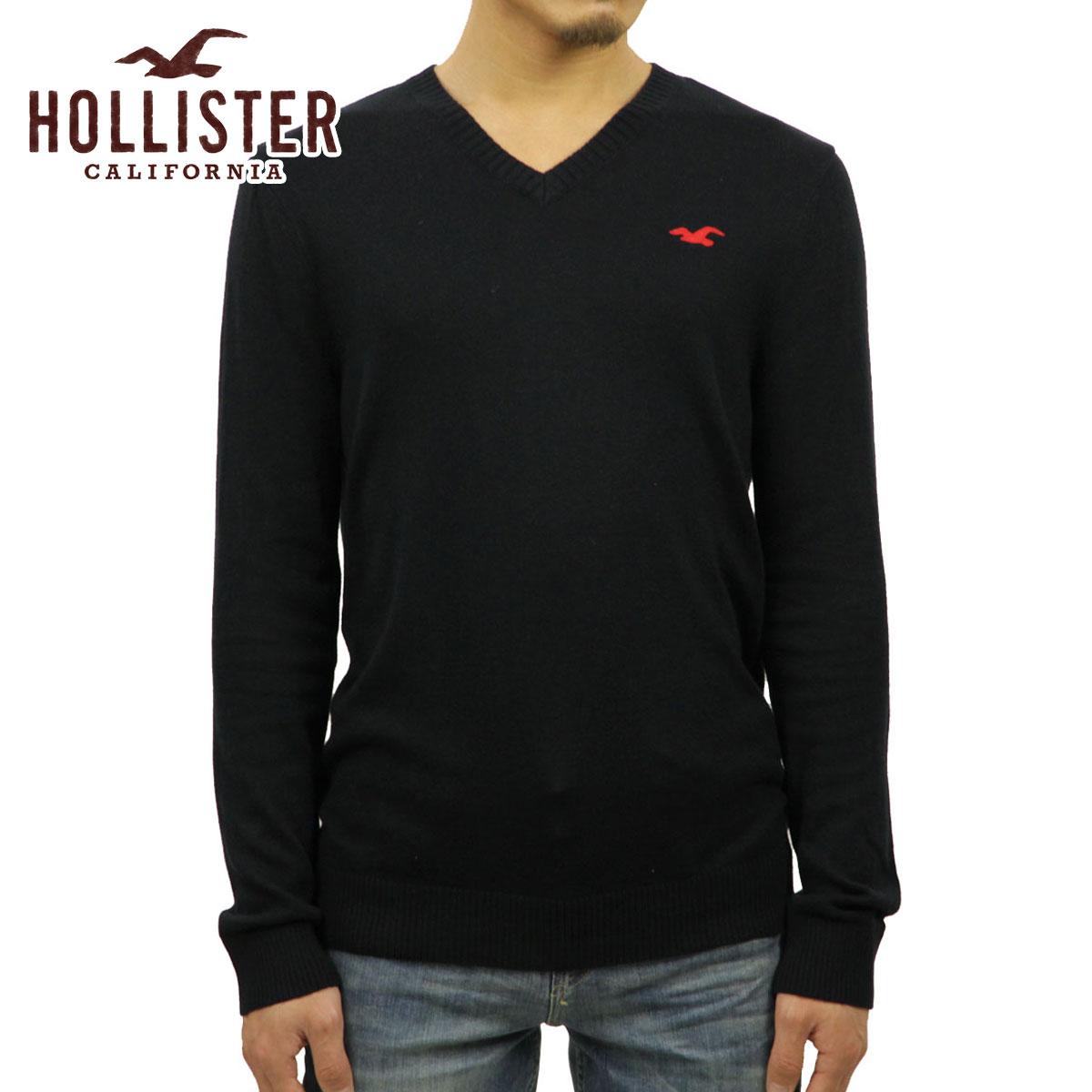 20%OFFセール 【販売期間 12/19 20:00~12/26 01:59】 ホリスター セーター メンズ 正規品 HOLLISTER Iconic V-Neck Sweater 320-201-0295-200