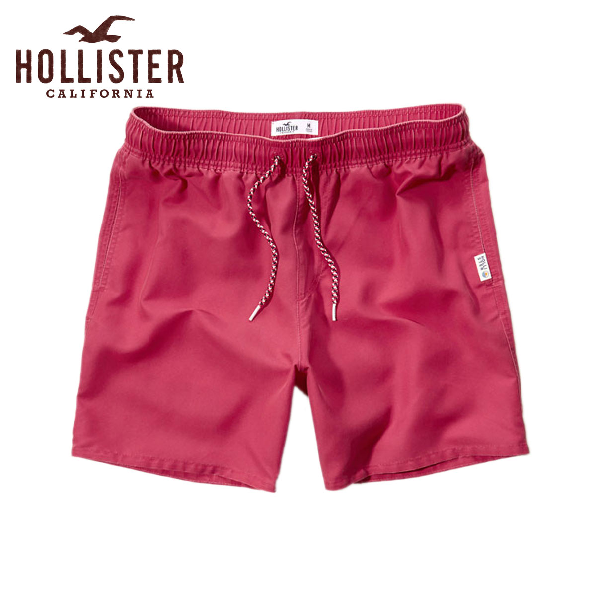 90f3552790c7d Hori star HOLLISTER regular article men swimming underwear swimsuit Beach  To Street Swim Shorts 333- ...