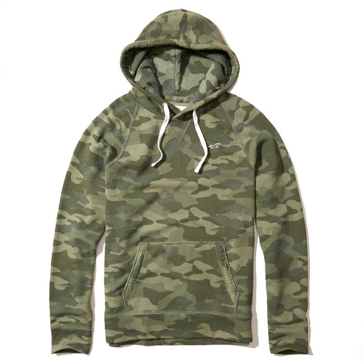 Hori star sweat shirt men's regular article HOLLISTER fleece pullover parka Hollister Feel Good Fleece Hoodie 322 221 0706 380