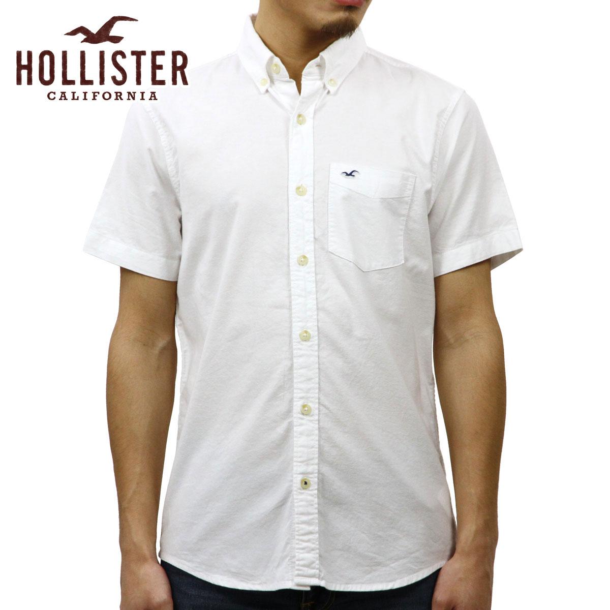 947590e5946 Hori star HOLLISTER regular article men short sleeves button-down shirt  BUTTON DOWN S-SHIRT 325-253-275-100