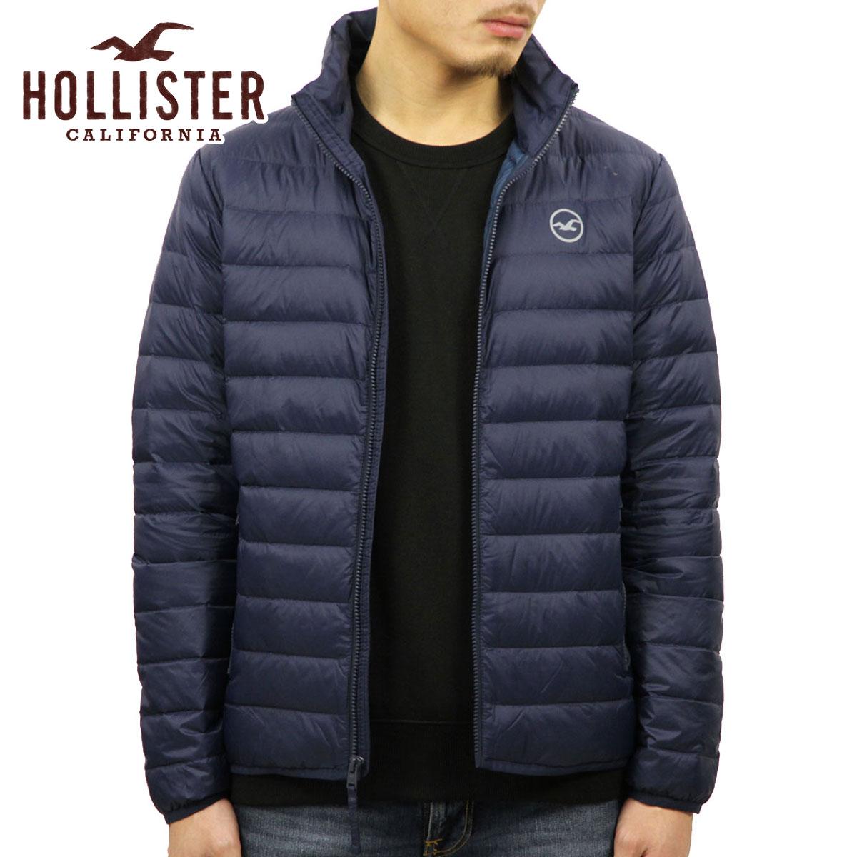 ホリスター HOLLISTER 正規品 メンズ ダウンジャケット Lightweight Down Puffer Jacket 332-328-0810-200