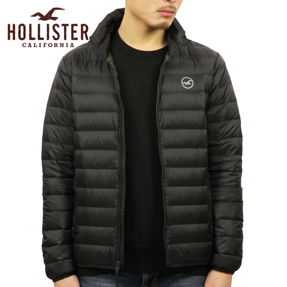 ホリスター HOLLISTER 正規品 メンズ ダウンジャケット Lightweight Down Puffer Jacket 332-328-0810-900