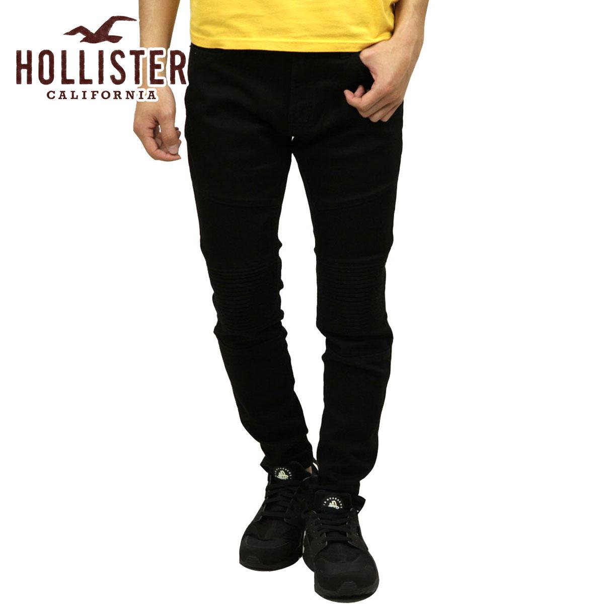 ホリスター HOLLISTER 正規品 メンズ ストレッチスキニージーンズ Advanced Stretch Super Skinny No Fade Jeans 331-380-1598-975