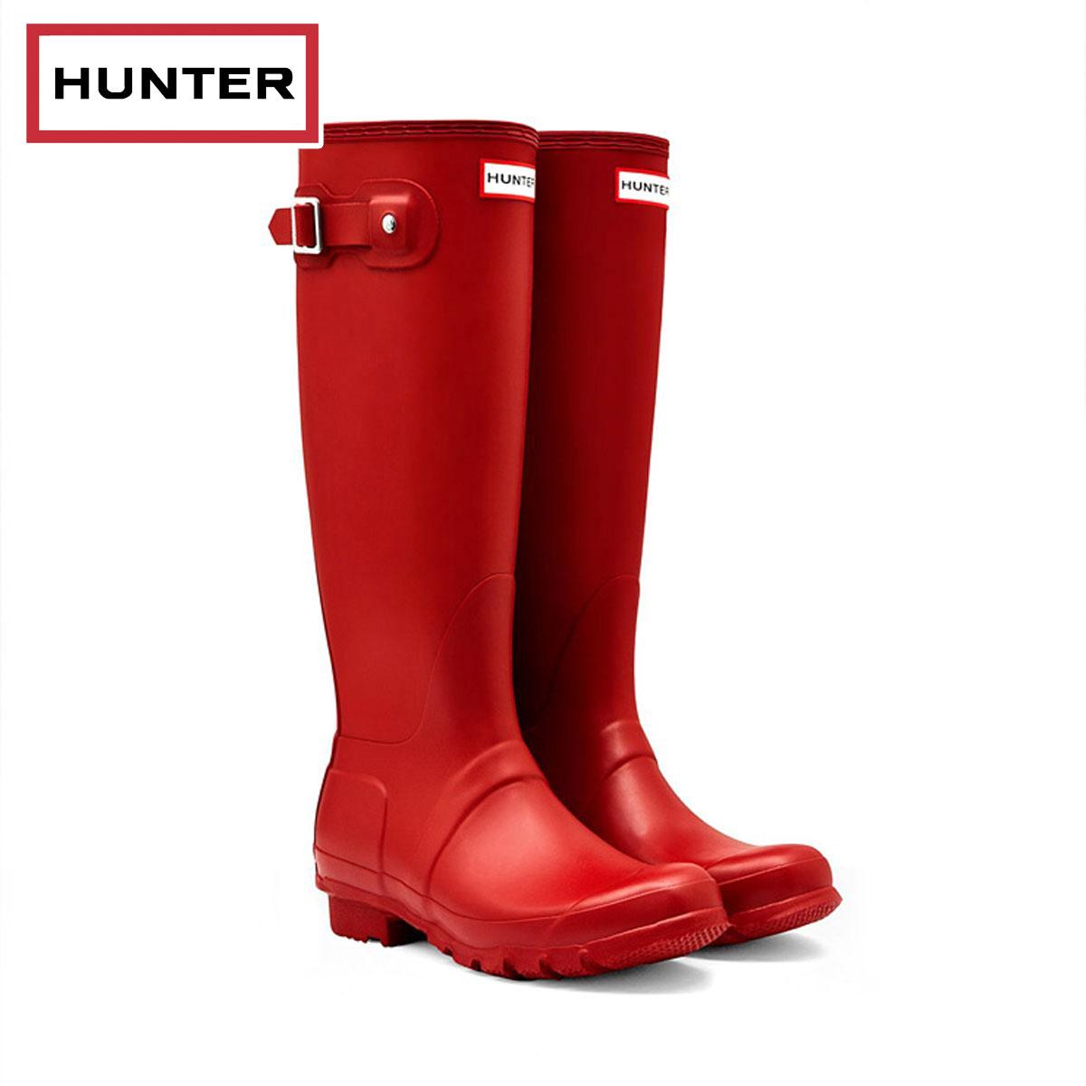 ハンター HUNTER 正規販売店 レディース レインブーツ 長靴 WOMENS ORIGINAL TALL ウィメンズ オリジナルトール MILITARY RED HWFT1000RMAMLR D00S15