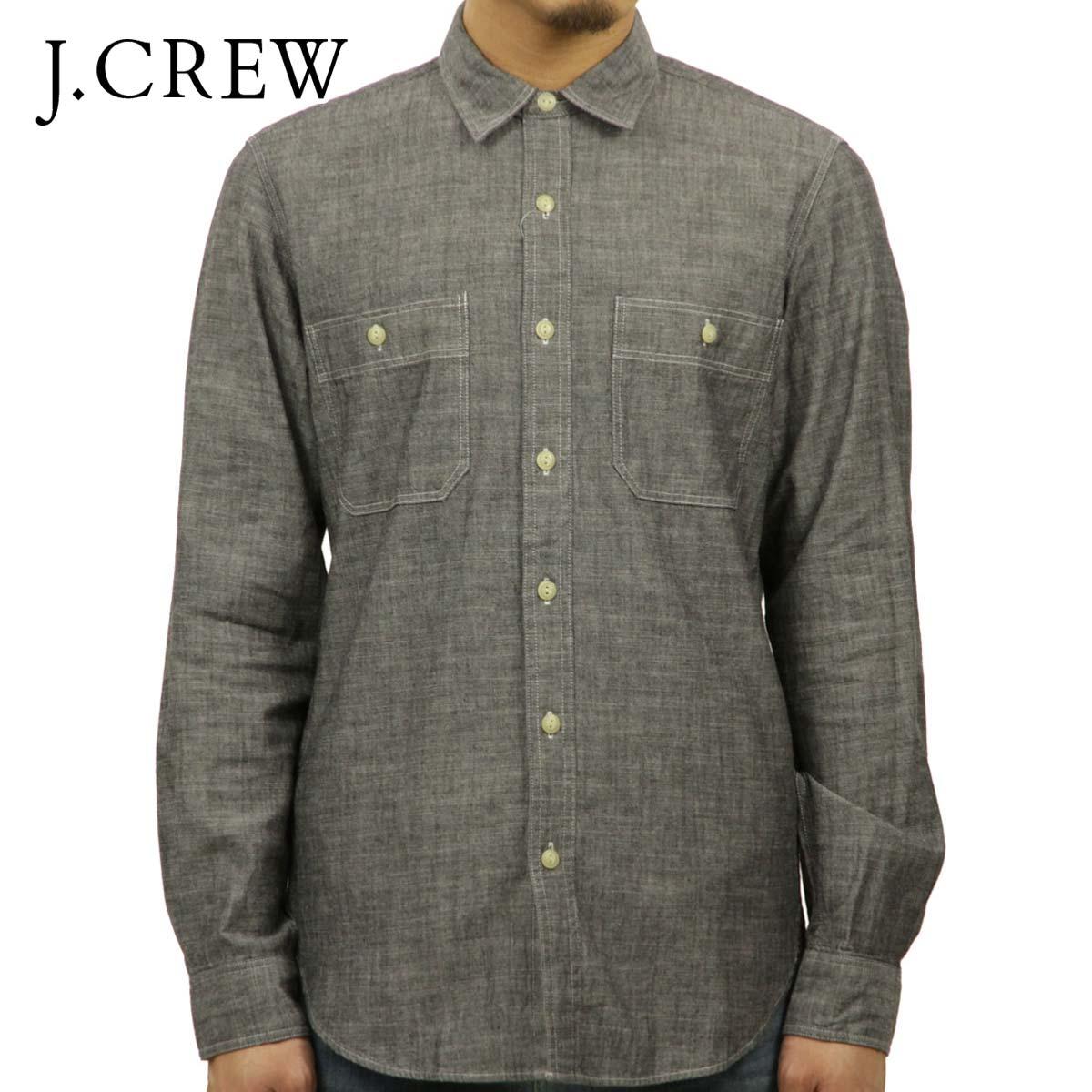 dc519d7bc030b Rakuten Ichiba shop MIXON  J.crew J.CREW AE men s long sleeve shirt black  chambray workshirt BLACK P16Sep15 10P23Sep15