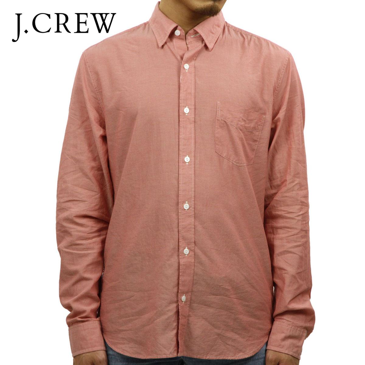 2f54662ed1c6a Rakuten Ichiba shop MIXON  J.crew J.CREW AE men s long sleeve work shirt  SLIM LIGHTWEIGHT CHAMBRAY SHIRT ORANGE 10P07Nov15