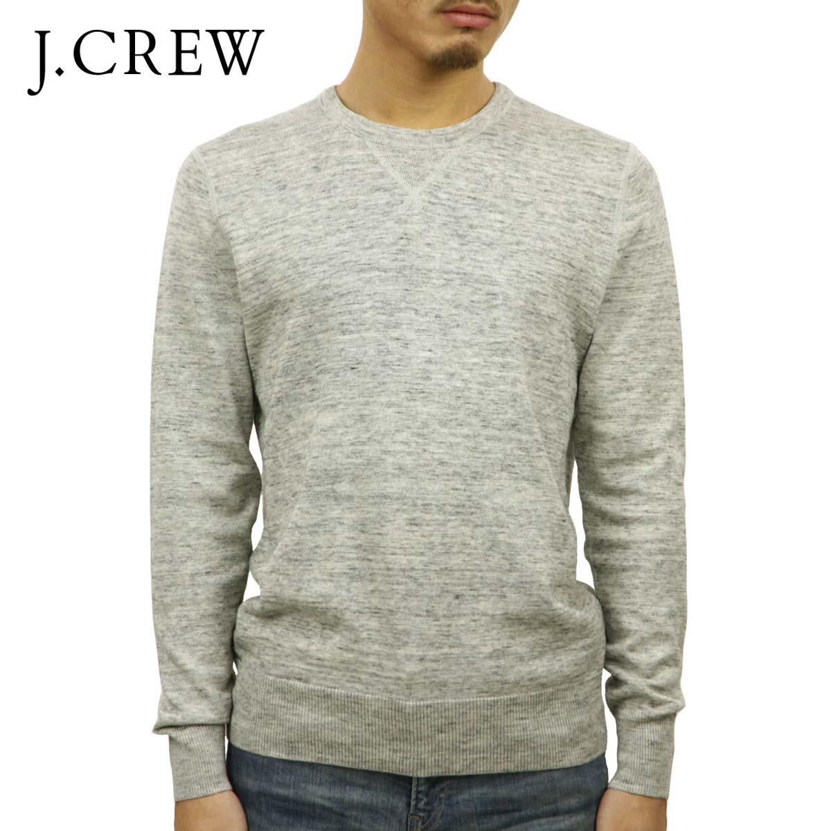ジェイクルー J.CREW 正規品 メンズ セーター HEATHERED SWEATSHIRT SWEATER GREY D20S30