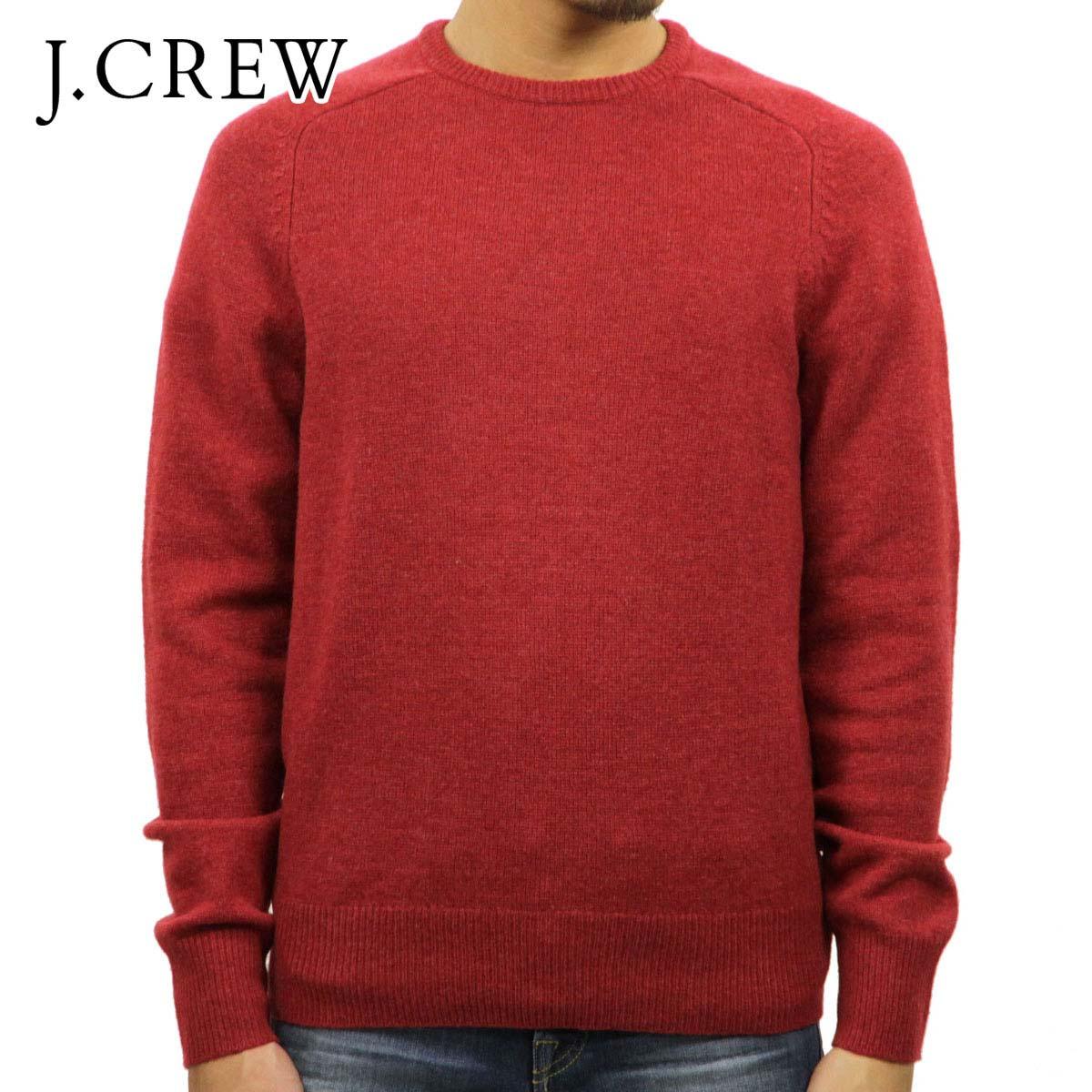 ジェイクルー J.CREW 正規品 メンズ セーター LAMBSWOOL CREWNECK SWEATER A9128 D20S30
