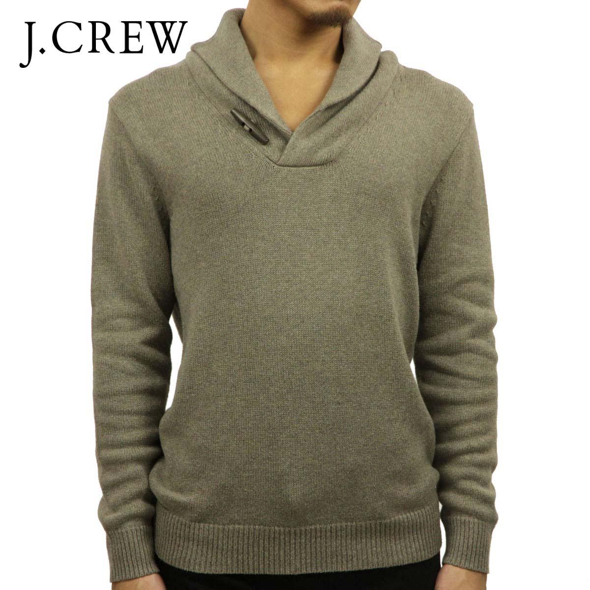 ジェイクルー J.CREW 正規品 メンズ セーター COTTON TOGGLE SHAWL-COLLAR SWEATER E6729 D00S20