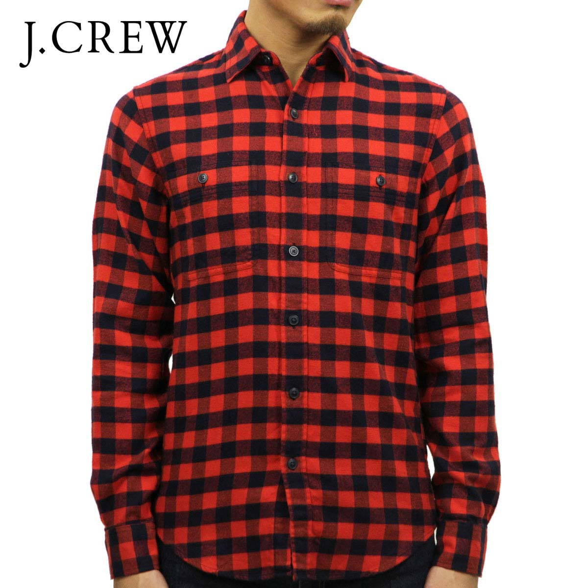 0c8195d9b2531 Rakuten Ichiba shop MIXON  J.crew J.CREW AE men s long sleeve shirt ...