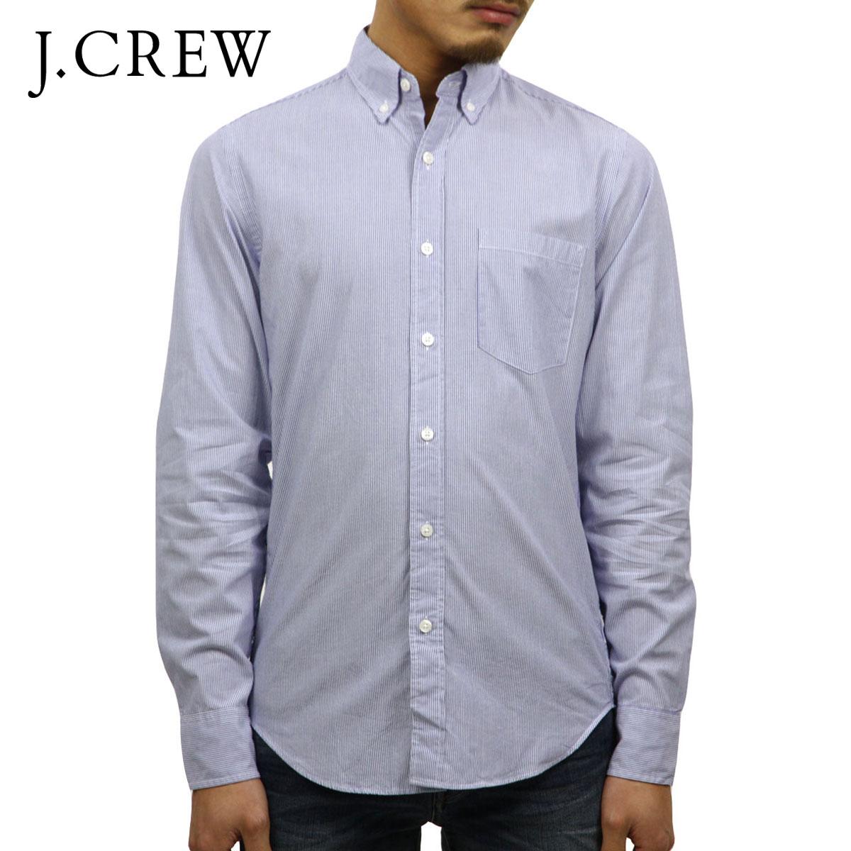 ジェイクルー J.CREW 正規品 メンズ 長袖シャツ WASHED SHIRT IN CLASSIC STRIPE b8656 D00S20