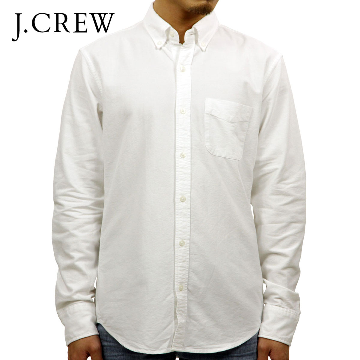 ジェイクルー J.CREW 正規品 メンズ 長袖シャツ OXFORD SHIRT b9292 D00S20