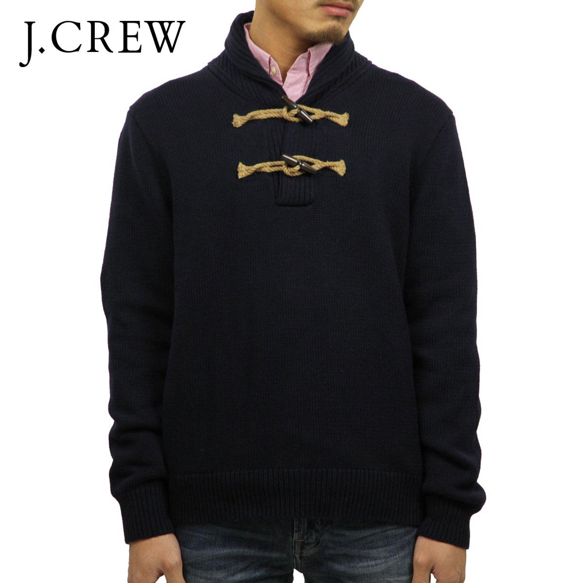 ジェイクルー J.CREW 正規品 メンズ セーター TOGGLE SHAWL-COLLAR POPOVER SWEATER 86111