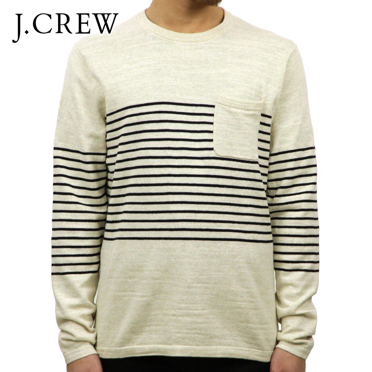 ジェイクルー J.CREW 正規品 メンズ セーター STRIPED CREWNECK SWEATER e6817 D00S20