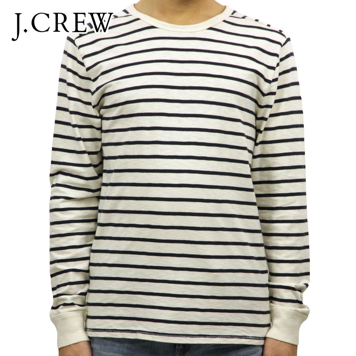 ac497772e0cc3 J.crew J.CREW AE men s long sleeve T shirt LONG-SLEEVE DECK-STRIPED  TEXTURED COTTON T-SHIRT c793120P05Nov16
