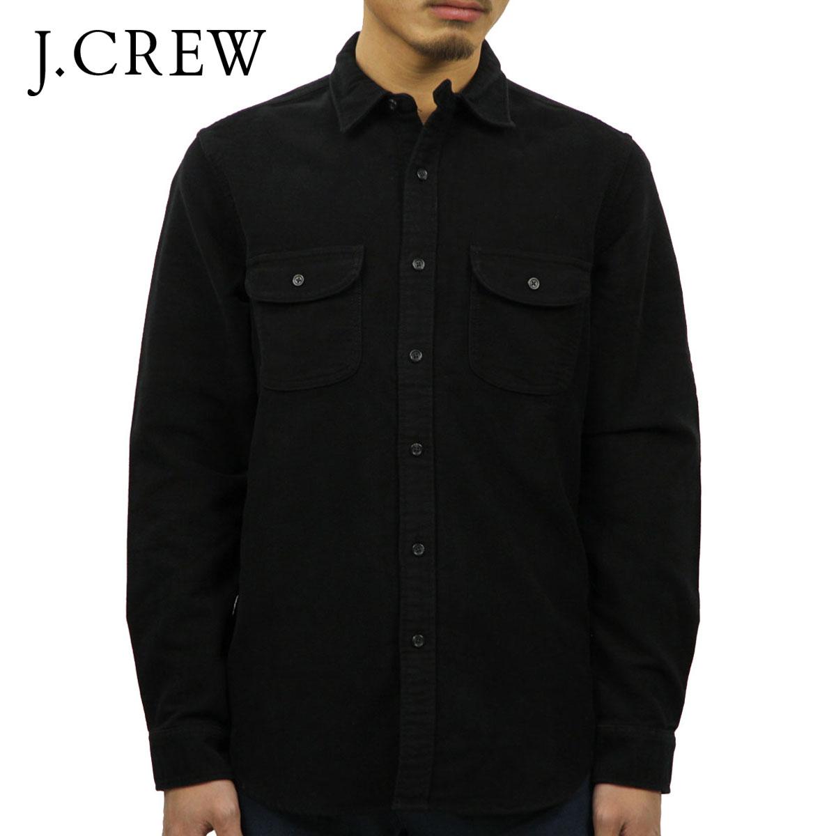 ジェイクルー J.CREW 正規品 メンズ 長袖シャツ MOLESKIN WORKSHIRT f4558 D00S20