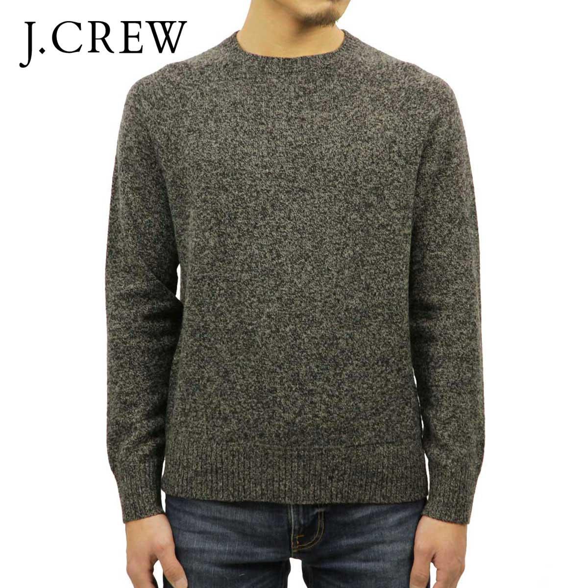 ジェイクルー J.CREW 正規品 メンズ クルーネックセーター LAMBSWOOL CREWNECK SWEATER H0520 MARLED ARGOSY