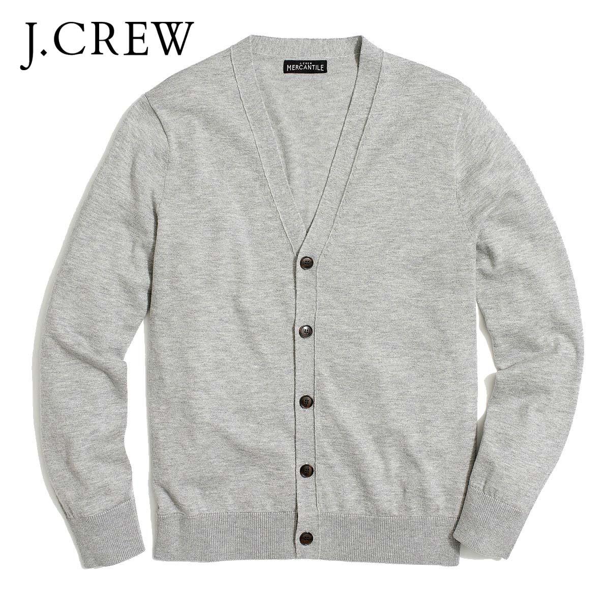 J.Crew Mercantile Mens Cotton Shawl Cardigan Cardigan Sweater