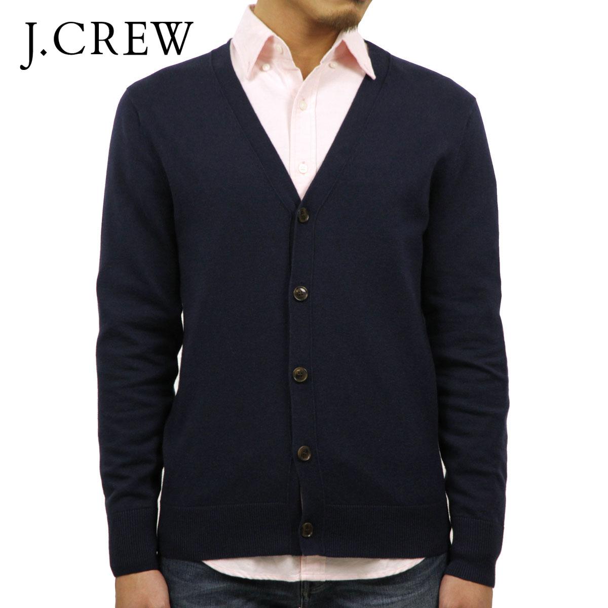 ジェイクルー J.CREW 正規品 メンズ カーディガン CARDIGAN SWEATER IN PERFECT MERINO WOOL BLEND NAVY J7101