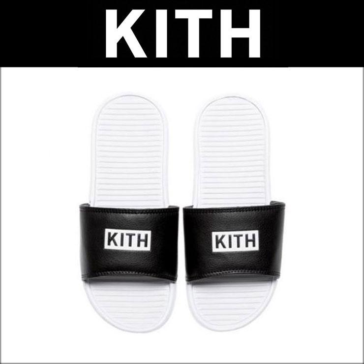 接吻KITH正规的物品凉鞋KITH Classics Chancletas SANDALS FLIP FLOPS