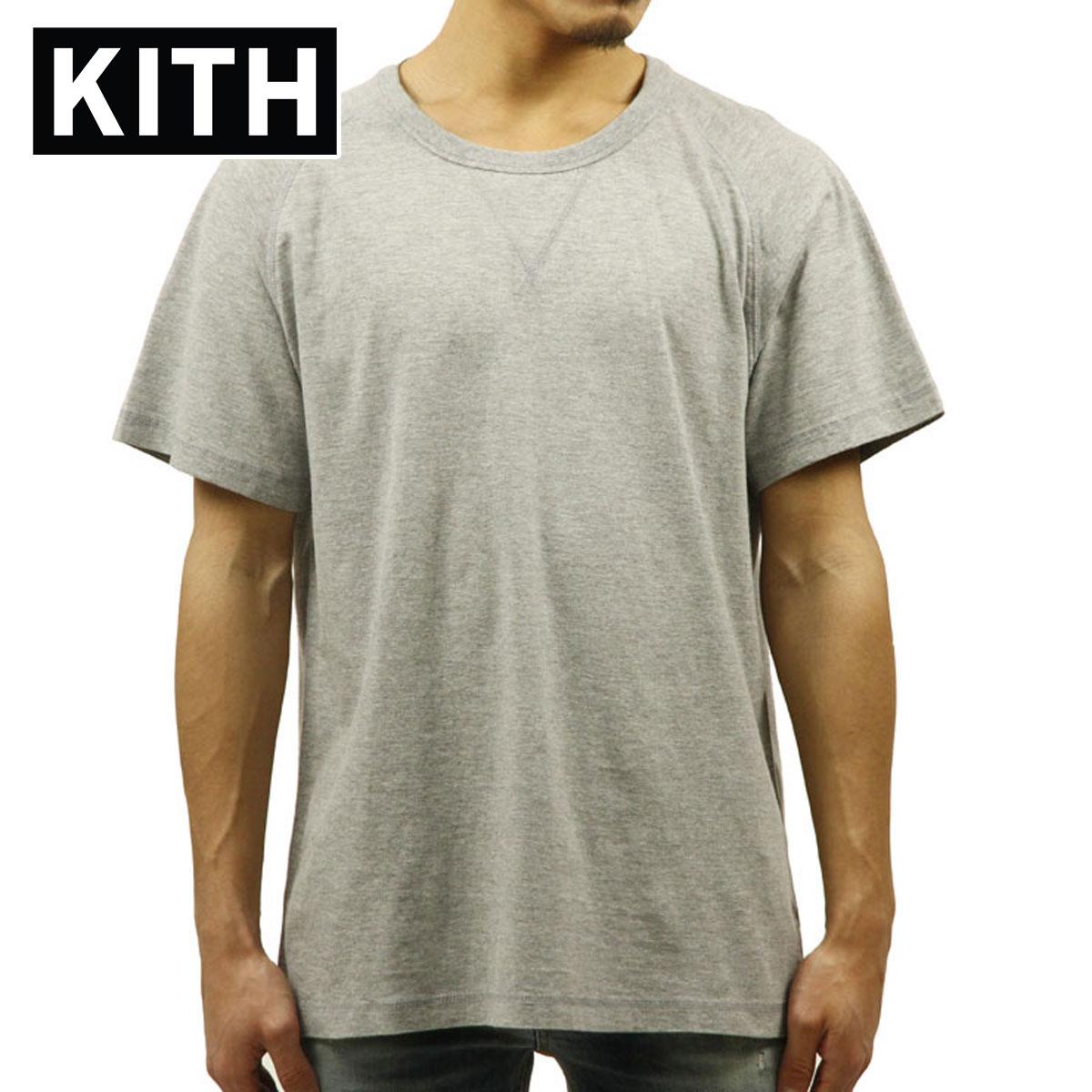 キス KITH 正規品 メンズ 半袖Tシャツ KITH LEWIS TEE - ATHLETIC GREY D00S15