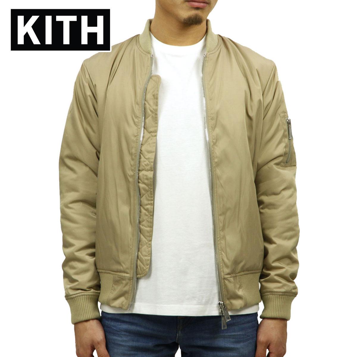 キス KITH 正規品 メンズ MA-1 KITH CLASSICS ASTOR BOMBER COFFEE KH1046-108 D00S15