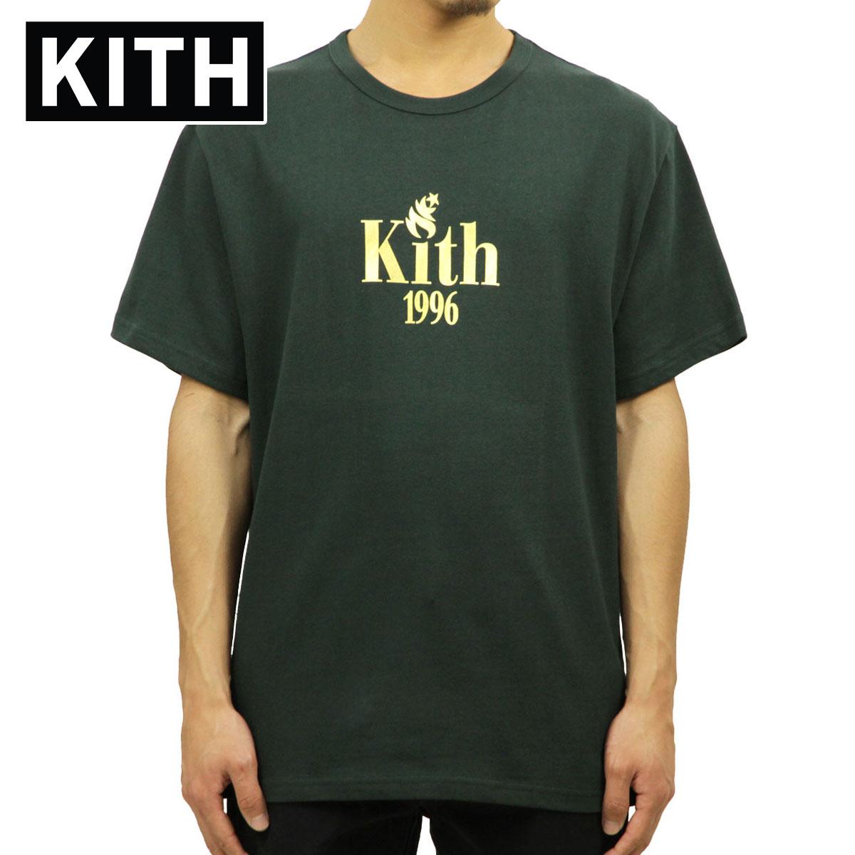 キス KITH 正規品 メンズ 半袖Tシャツ KITH 1996 TEE FOREST GREEN KH3083-106 D00S15
