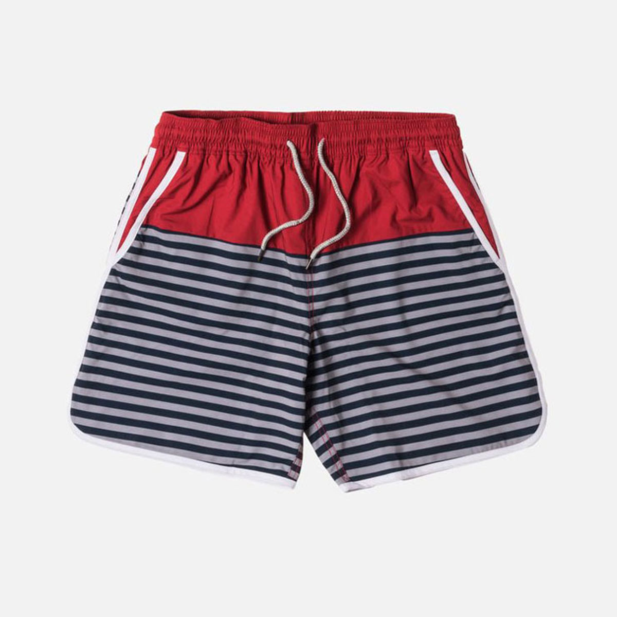 6c67e36241df6 ... Kiss KITH regular article men swimsuit swimming underwear KITH ROCKAWAY  SHORT KH7002-106 RED ...