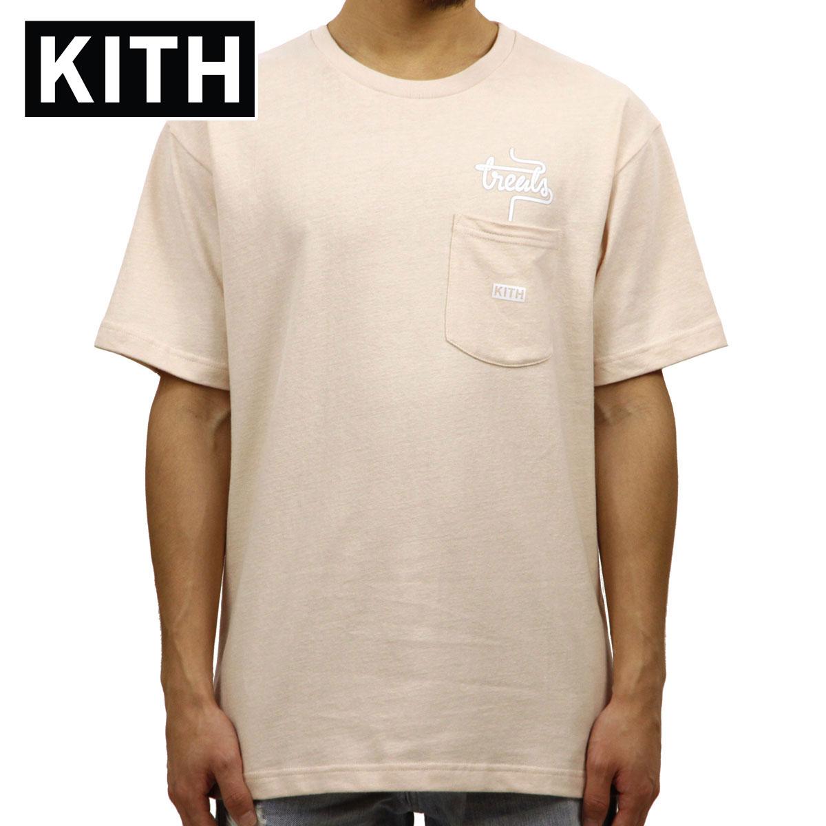 キス KITH 正規品 メンズ クルーネック 半袖ポケTシャツ KITH TREATS MILKSHAKE SPECIAL POCKET TEE KH3327-107 PINK